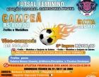 Imbé sedia 16ª Copa Impacto de Futsal Feminino
