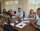 Reunião com promotor público aborda: câmeras de vigilância, ETE na Lagoa dos Barros e hospital de SAP