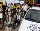 Polícia Civil participa de passeio sobre rodas em Tramandaí