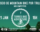 Torres terá primeiro passeio de mountain bike por trilhas