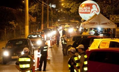 PORTO ALEGRE, RS, BRASIL, 09.03.13: Operação Balada Segura na Av. Plínio Brasil Milano. Foto: Claudio Fachel/Palácio Piratini
