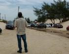Órgãos ambientais retiram carros da faixa de praia no Litoral Norte