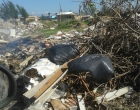 Fala internauta: dono de terreno em praia de Osório reclama de descarte irregular de lixo