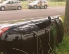 Acidente envolve dois veículos na ERS-030