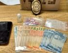 Homem é preso em flagrante por tráfico de drogas em festa no Litoral Norte