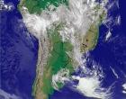Formação de ciclone pode trazer chuva forte, acompanhada de granizo e vento na região, diz alerta
