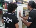Polícia Civil participa de ação preventiva no centro de Atlântida