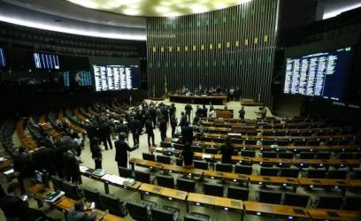 Spb protestos, texto foi aprovado por 231 a favor, 188 contra e 8 abstenções.Marcelo Camargo/Agência Brasil
