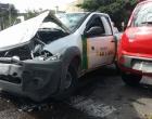 Colisão deixa dois feridos no centro de Osório