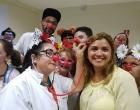 Grupo palhaços humanitários Doutores da Vida realizam ações no hospital de Osório