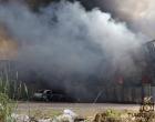 Incêndio de grandes proporções atinge fábrica de sapatos em Santo Antônio da Patrulha