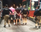Assaltantes são presos na Freeway