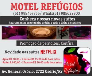 Motel Refúgios Osório 15/03/;2017