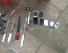 Ação apreende facas, celulares e drogas na Penitenciária de Osório