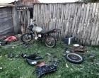 Casal é preso durante desmanche de moto roubada em Mostardas