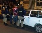 PRF prende casal com carro roubado em Osório