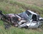 Mulher e criança morrem em acidente na RSC-101
