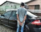 Homem é preso com veículo roubado em Mostardas