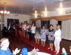 Desfile das Lojas Dione Modas em evento do Clube da Melhor Idade Amizade em Osório