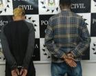 Polícia prende dupla que assaltava pedestres no Litoral