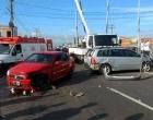 Acidente de trânsito envolve dois veículos em Osório