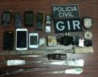 Apreendidas drogas, celulares e armas em galeria da penitenciária de Osório