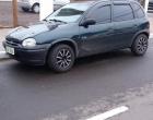 Veículo estacionado é furtado no centro de Osório