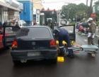 Motorista foge após colisão no centro de Osório