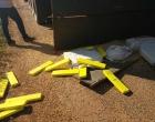 Caminhão carregado com drogas é perseguido e foge pela contramão na RS-030