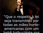 A força da lei e não a lei da força - Por Jayme José de Oliveira