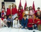 Alunos da EMEF Osvaldo Amaral estudam a cultura do Divino em Osório