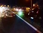 Colisão entre moto e carro deixa dois feridos na Estrada do Mar