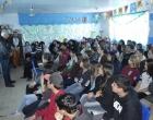 Alunos da EMEF Rui Barbosa participam de palestra da ALCOD em Imbé