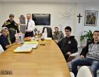 Praticantes de skate dowill se reúnem com prefeito de Osório