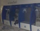 Criminosos explodem caixas eletrônicos de mais um banco no Litoral