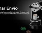 Nespresso dá cafeteiras grátis para quem faz teste? É golpe