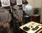 Trio é preso por tráfico de drogas em Osório