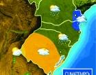 Nova frente fria traz chuvas ao estado e faz cair a temperatura