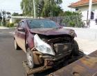 Dois acidentes a poucos metros de distância marcam início da tarde em Osório