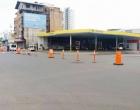 Trânsito é interrompido no centro de Tramandaí