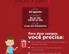Hoje é dia de doação de sangue em Osório