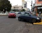 Acidente de trânsito envolve dois veículos no centro de Osório