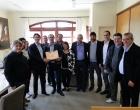 Comitiva de Osório visita Canela para estudo do Projeto de Lei sobre o estacionamento rotativo