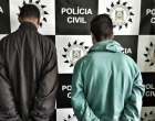 Polícia Civil prende homem por homicídio e outro por tráfico de drogas em Mostardas