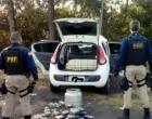 PRF apreende crack, cocaína e recupera carro clonado na Freeway