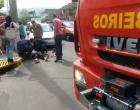 Ciclista fica ferida após se envolver em acidente com veículo em Osório