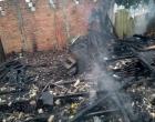 Residência é completamente destruída pelo fogo em Osório