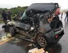 Colisão entre carro e caminhão deixa vítima presa às ferragens na RS-474