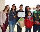 Aluno da Tuiuti vence concurso de desenho em Osório