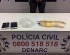 Motorista de aplicativo é preso suspeito de distribuir droga na região